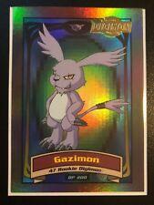 Gazimon Digimon Card Animated Series II Very Rare