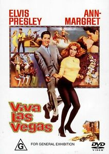 ELVIS PRESLEY (VIVA LAS VEGAS - ORIGINAL PRESSING DVD + FREE POST)