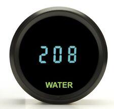 "Dakota Digital 2-1/16"" Round  Universal Water Temperature Gauge Teal ODYR-04-1"