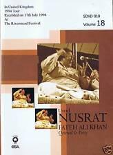 NUSRAT FATEH ALI KHAN VOL 18 - RIVERMEAD FESTIVAL 1994