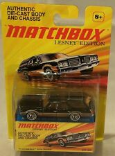 MJ7 Matchbox - 2010 Lesney - 1971 Oldsmobile Vista Cruiser - Black