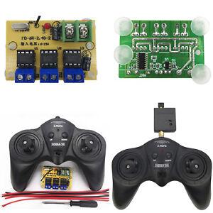 6CH 2.4G Remote Controller Transmitter Receiver Board for DIY RC Boat Car Model