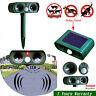 Ultrasonic Solar Power Pest Animal Repeller Repellent for Garden Cat Dog Fox Hot