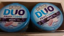 16 Ice Breakers Duo Fruit + Cool Grape Mints 1.3oz tins