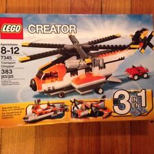 Lego Set 7345 Creator - Transport Chopper 3 in 1 Ferry, Seaplane -  Sealed bags