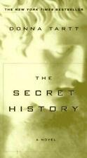Secret History paperback book by Donna Tartt  FREE SHIPPING tart a novel