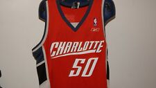 NBA Reebok Charlotte Bobcats Hornets Authentic Swingman Jersey Orange XL XXL
