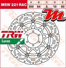 Disque de frein Avant TRW Lucas MSW 221 RAC pour Cagiva 125 Freccia C12 1989-91