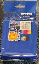BROTHER LC3019 XXL (3 PACK) COLOR INK CARTRIDGES FACTORY SEALED BAG/NEW/GENUINE