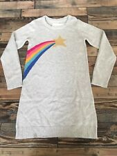 Gymboree Cosmic Club Shooting Star Sweater Dress Girls Rainbow NWT Size 6