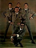 THE TEMPTATIONS 1967 WITH A LOT O' SOUL TOUR CONCERT PROGRAM BOOK / NMT 2 MINT
