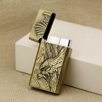 Torch Jet Flame Cigarette Lighter Windproof Refillable Butane Gas Cigar Lighters