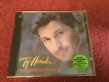"Ty Herndon ""What Mattered Most"" CD"