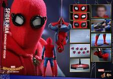 Hot Toys 1/6th MMS414 Spider-Man (Homemade Suit Version) Collectible Figure