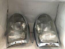 Mercedes Benz W111 W112 W108 W109 Headlight Bezel Assembly EURO Head Light OEM