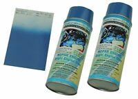 1970-74 Mopar Dodge High Temp Restoration Engine Enamel Blue Spray Paint 2 cans