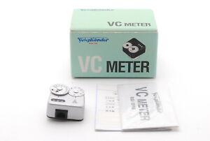 【MINT in BOX】 Voigtlander VC Meter Shoe Mount Light Exposure Meter from JAPAN