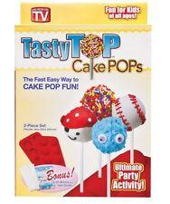 """Original"" As Seen On Tv Tasty Top Cake Pop Kit PLUS BONUS in Retail Box"