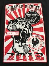 Extremely RARE Hells Angels Big House Crew California Large Tshirt Support 81