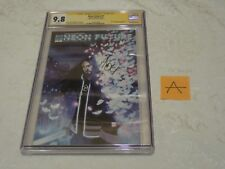 CGC SS Neon Future #1 Impact Theory Comic Book Signed By Steve Aoki 9.8 A
