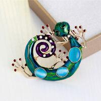 Charming Lizard Shaped Rhinestone Women Girl Brooch Pin Fashion Jewelry Gift