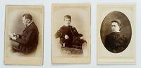 5 Cartes de Visite der Familie Biskup, 19. Jh., Photographie