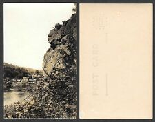 Old Minnesota Postcard - Taylors Falls - Real Photo - Old Man of the Dalles