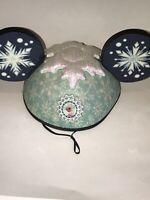 Disney Parks Disneyland Walt World Anna Elsa FROZEN Double Sided MICKEY EARS Hat