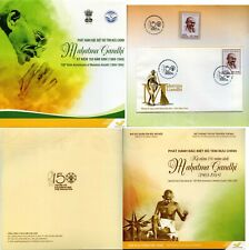 Vietnam-2019 The 150th Birthday of Mahatma Gandhi. Souvenir set