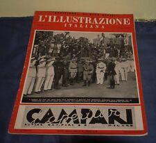 L'ILLUSTRAZIONE ITALIANA  FASCISMO 1938 N° 26  DUCE VENEZIA VITTORIO EMANUELE