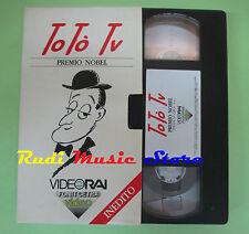 film VHS cartonata PREMIO NOBEL Toto tv Corrado Sandra Milo VIDEORAI(F77) no dvd