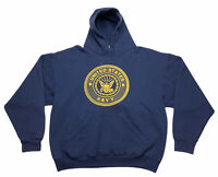 Vintage Soffe 50/50 Blend United States Navy Sweatshirt Men's Size L Made In USA