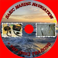 Learn Marine Navigation at Sea Techniques VHF Radio Skills Tides Winds DVD