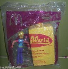 2006 Polly Pocket World Doll Camera McDonald's Happy Meal Toy # 1
