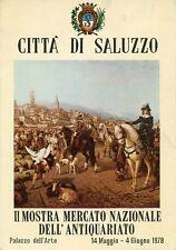 F397_CITTA' DI SALUZZO-II MOSTRA NAZ.DELL'ANTIQUARIATO 1978-ANNULLO POSTALE