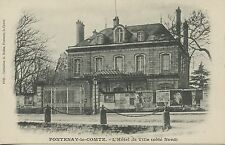 CARTE POSTALE FONTENAY LE COMTE HOTEL DE VILLE