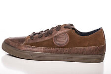 Tommy Hilfiger Herren Leder Sneaker Schuhe Vincent 2 Braun NEU Gr. 42