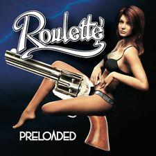 Roulette - Preloaded NEW CD (OFFICIAL RELEASE)  Hard Rock Hair Metal