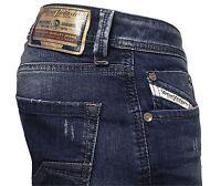 Diesel Herren Straight-Cut Stretch Jeans LARKEE 084CV blau   Gr. 30/30  NEU