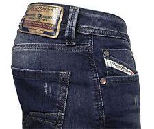 Diesel Herren Straight-Cut Stretch Jeans LARKEE 084CV blau   Gr. 36/30  NEU