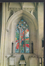 Religion Postcard -Stained Glass Window,Bristol Cathedral,South Choir Aisle LE35