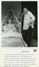 JACK WESTON & WIFE MARGE REDMOND IN BED LOVE HONOR AND OR OBEY 1976 NBC TV PHOTO