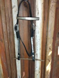 Circle Y Headstall Vintage lots of silver