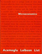 Microeconomics by David Laibson, John List and Daron Acemoglu (2014, Paperback)