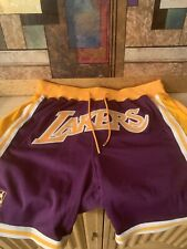 Just Don Lakers Shorts 10000000000% AUTHENTIC