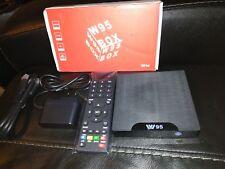 W95 S905W Andriod 7.1 TV BOX 2.4G WiFi LAN 4K Home Media Streaming Player A7X5