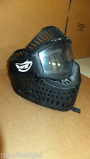Used JT Sports Elite Full Cover Paintball Headshield, w/JT lens, chin strap,fits