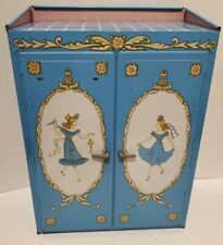 Vintage Ideal Toys 1950's Doll Wardrobe for 12in and similar dolls USA litho