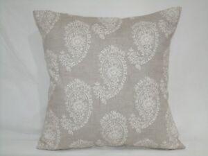 "4 x modern Cushion covers,""paisley""100% cotton,16""x16"""