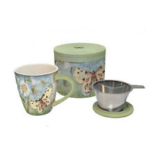 Lang - Tea Infuser Mug - Beautiful Gift Box - BUTTERFLY DAISY - #LG-TM-2160500
